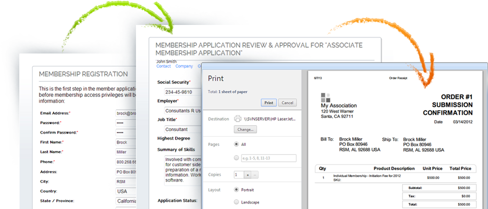 Membership Registration Management