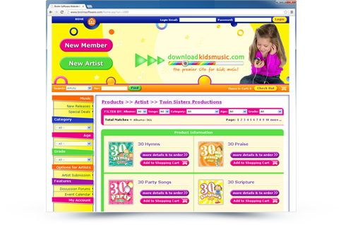 Download Kids Music Website