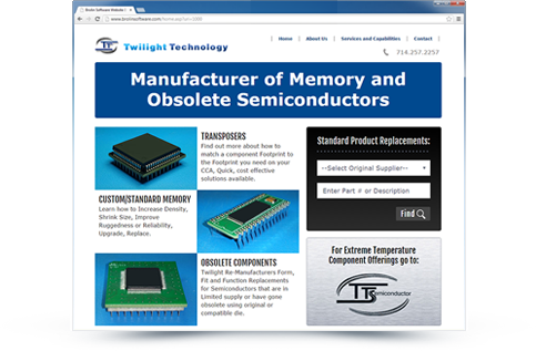 Twilight Technology Website